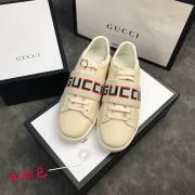 gucci鞋 古馳2018新款休閒鞋 200牛皮時尚女鞋 米黃