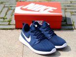 nike roshe two v2 奧運倫敦2代 小run網面透氣時尚男生跑鞋 藍白色