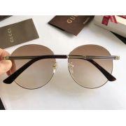 gucci眼鏡目錄 古馳2017新款太陽鏡 0206圓框經典墨鏡
