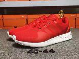 adidas originals zx flux adv-tech 吳亦凡同款時尚男生跑鞋 紅色