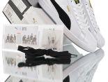 Puma Basket Patent第三代聯名 x 男團組合BTS防彈少年團 2019新款 經典明星百搭情侶款小白板鞋