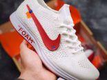 Nike Flyknit Racer 2019新款 off white聯名休閒男女慢跑鞋