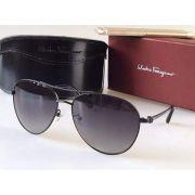 salvatore ferragamo太陽眼鏡 時尚墨鏡 菲拉格慕01款 時尚細框金屬邊眼鏡