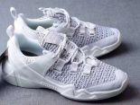 Skechers斯凱奇 Sneaker DLT-A Air Cooled 2018新款 情侶記憶緩震休閒慢跑鞋 白色