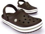 crocs特賣會 Crocband卡駱班情侶款洞洞鞋 咖啡色休閒鞋 沙灘鞋