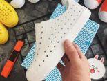 Native 童鞋 夏季兒童洞洞鞋沙灘鞋防滑透氣軟底戶外涼鞋