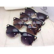 versace太陽眼鏡 凡賽斯2017年5月新款眼鏡 4357半框休閒太陽眼鏡