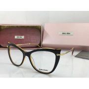 MIUMIU眼鏡 2018年新款太陽鏡 06P全框貓眼時尚透明眼鏡